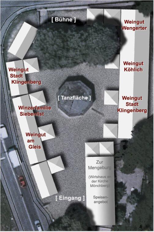 Winzerfest Lageplan